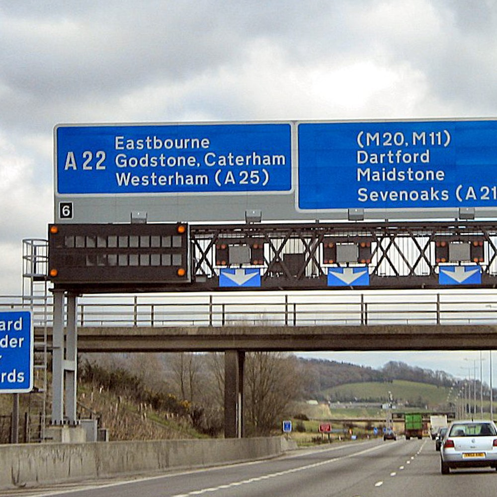 M25 Junction 6  Coppermine  2107 1000X1000