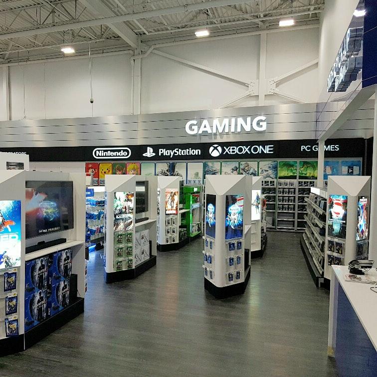 Sign Display Best Buy Gaming